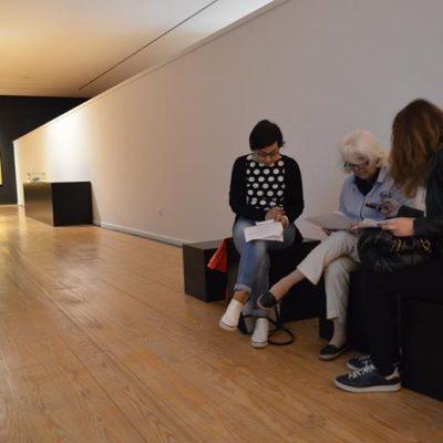 """Maria João Vasconcelos, diretora do Museu, dá conta à comunicação social das variadas atividades paralelas á exposição, sob o mote """"As novidades que os portugueses trouxeram à Europa"""""""