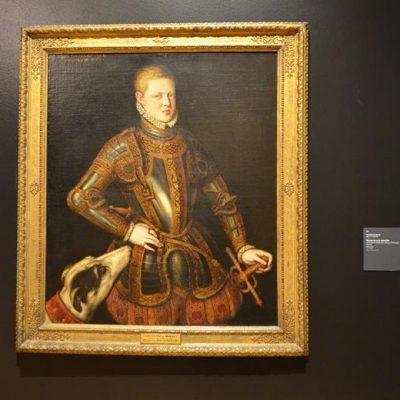 Um dos quadros portugueses mais emblemáticos e que aparece em todos os livros escolares de História: o retrato do rei D. Sebastião, por Cristóvão de Morais