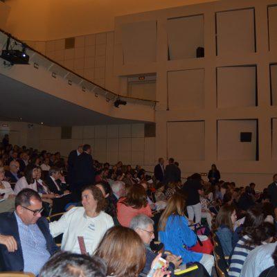 A plateia das Conferências ''Caminhos do Conhecimento''