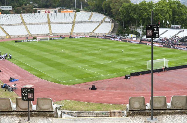 Final tem início às 17h15no Estádio do Jamor.