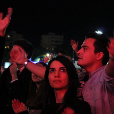 Público de David Carreira e Virgul