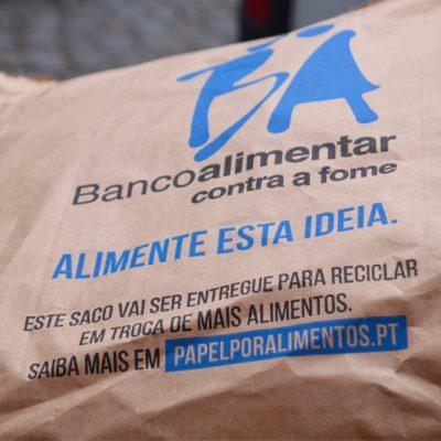 Campanha do Banco Alimentar do Porto no armazém de Perafita
