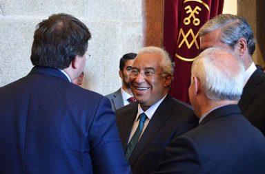 O primeiro-ministro andou, esta sexta-feira, pelo distrito do Porto.