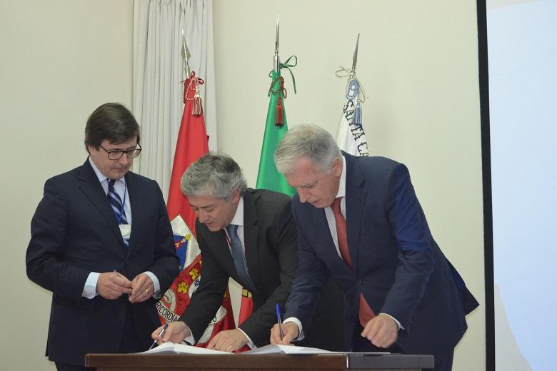 Protocolo para a ampliação da nova unidade foi assinado hoje.