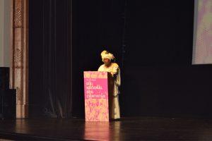 Elizabeth Rasekoala discursa no Dia Internacional dos Cientistas