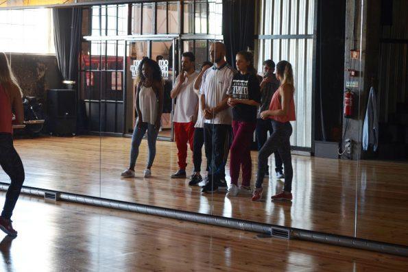 Ensaio bailarinos na MXM Art Center.