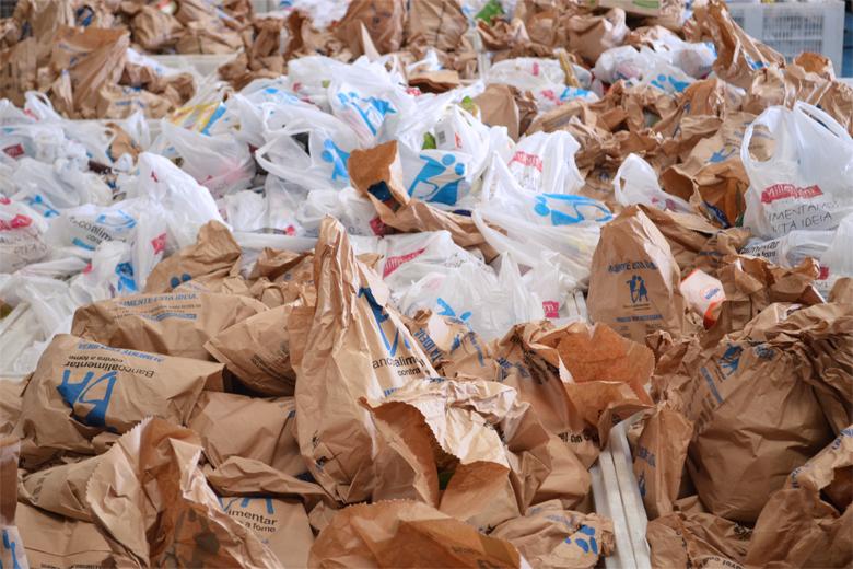 Banco alimentar recolheu mais de 1800 toneladas de alimentos