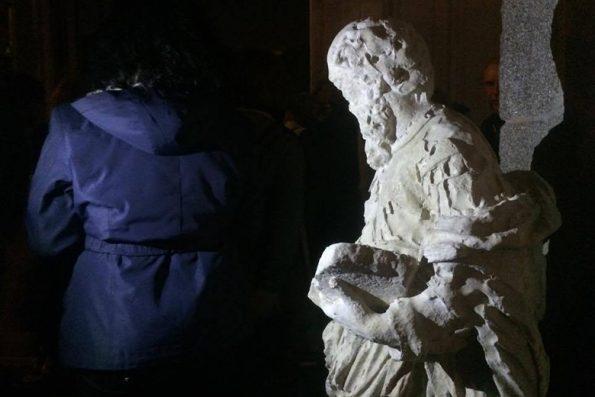 Estátua original do zimbório do Senhor do Padrão