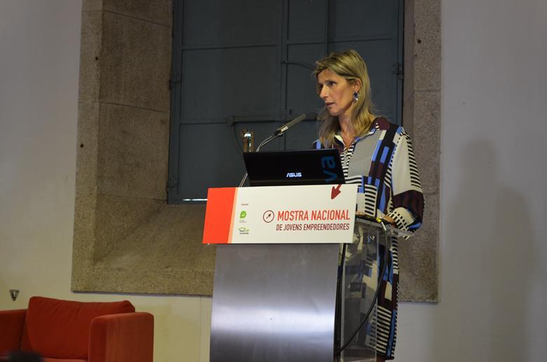Guilhermina Rego discursou na Mostra Nacional de Jovens Empreendedores