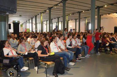 Durante esta semana dedicada ao empreendedorismo, os participantes têm a oportunidade de assistir a diversas palestras.