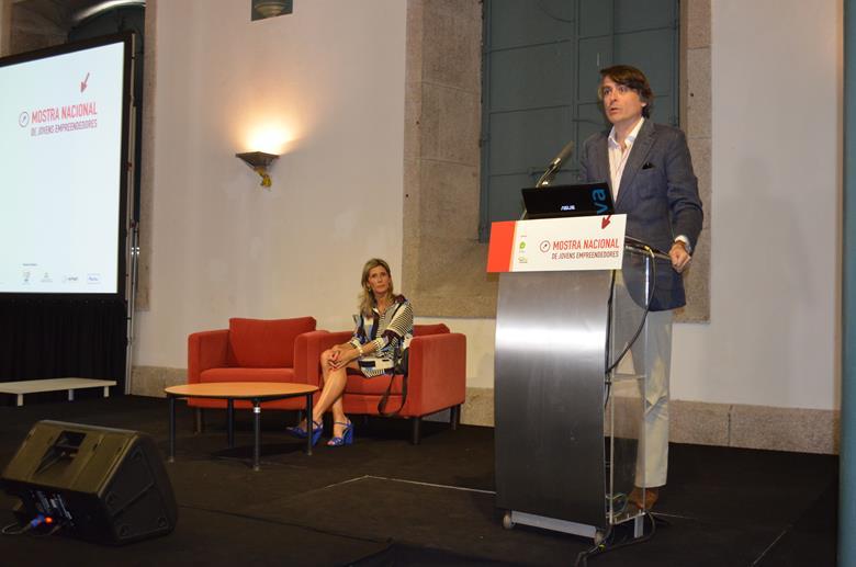 Francisco Maria Balsemão, presidente do conselho de administração da Fundação da Juventude esteve na cerimónia de abertura da Mostra.