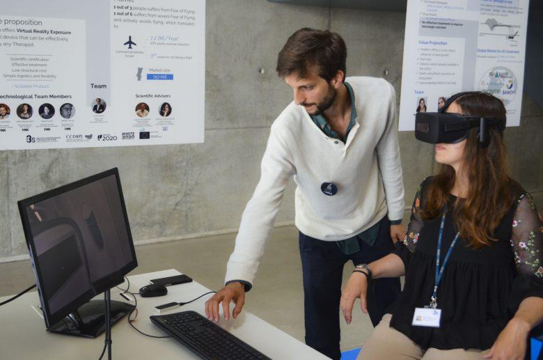teste de realidade virtual