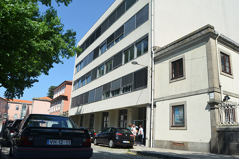 Edifício que atualmente acolhe os estudantes de Ciências da Comunicação da Universidade do Porto.