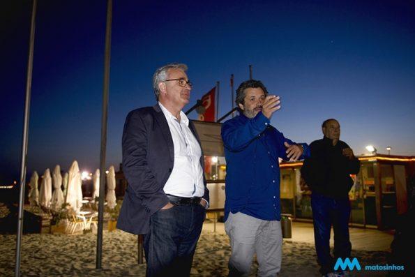 Joel Cleto e o Vice Presidente da CM Matosinhos