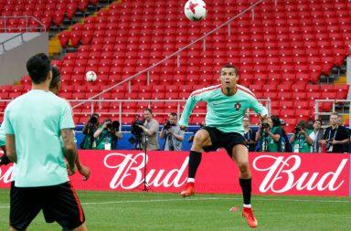 Cristiano Ronaldo ainda está à procura do primeiro golo na competição.
