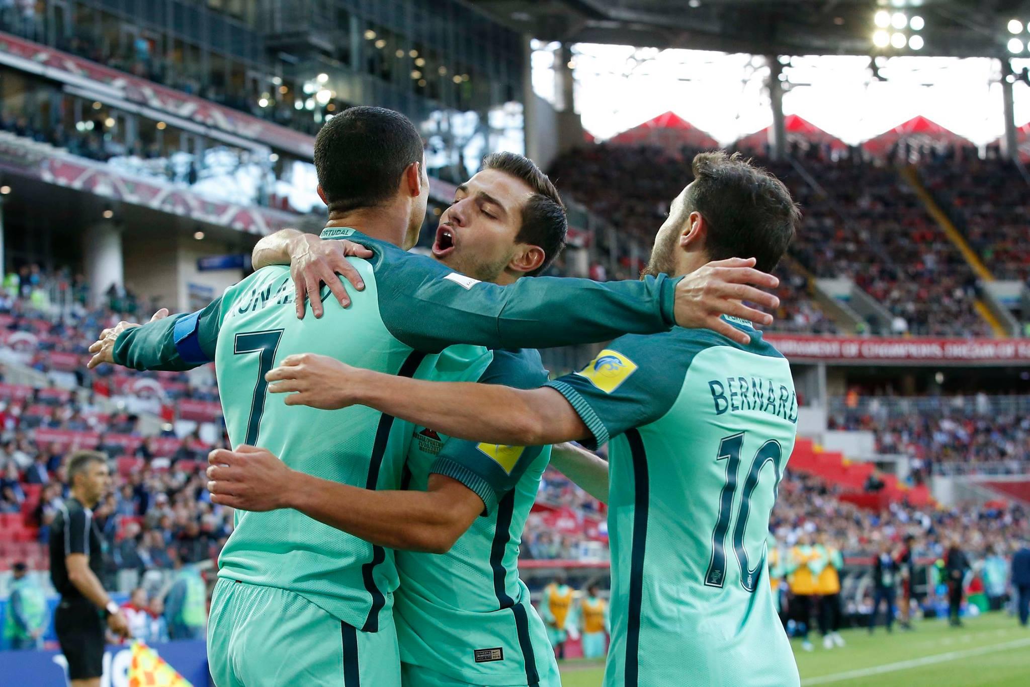 Ronaldo marcou o 74º golo ao serviço da seleção.