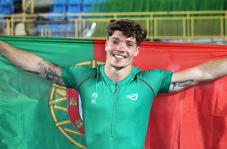 Diogo Ferreira tinha sido 12º nas Universíadas de 2015. Chega ao ouro aos 27 anos.