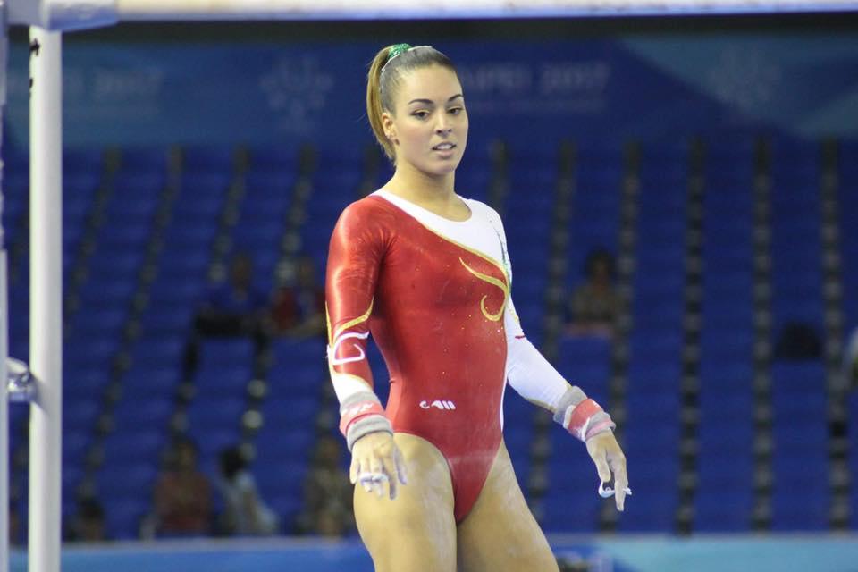 Filipa Martins foi a sexta melhor no concurso completo de ginástica artística.