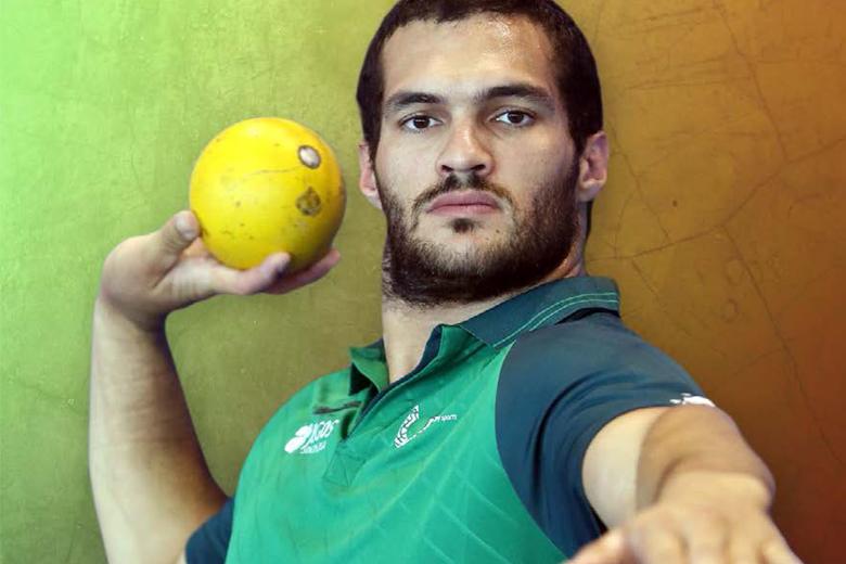 Francisco Belo tem um novo recorde pessoal no peso e uma medalha de ouro na bagagem.