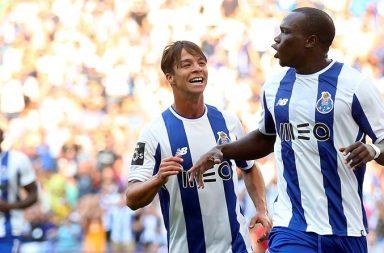 """Aboubakar marcou o primeiro """"hat-trick"""" ao serviço do FC Porto."""