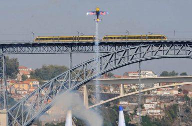 Red Bull Air Race obriga a condicionamentos dos dois lados do Douro.