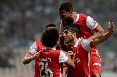 O SC Braga venceu por 2-1 no Bessa e avança na Taça da Liga.