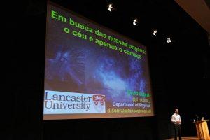 David Sobral deu palestra em Serralves sobre a origem do universo.