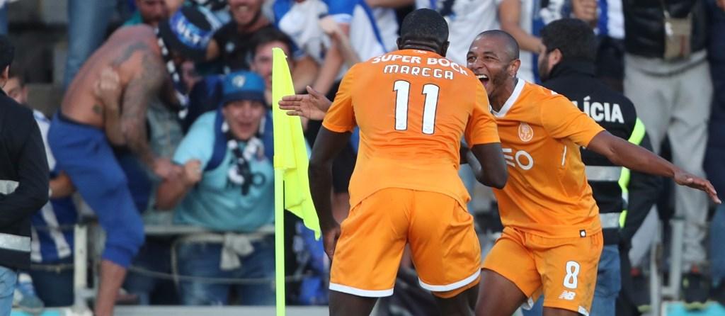 Danilo abriu o caminho que Marega fechou. Dois golos deram três pontos aos portistas em Vila do Conde.