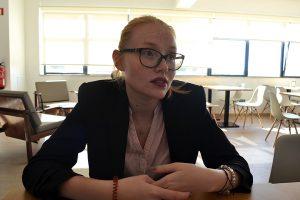 Natacha estuda no Porto e queria ter votado para a sua câmara, na Madeira.