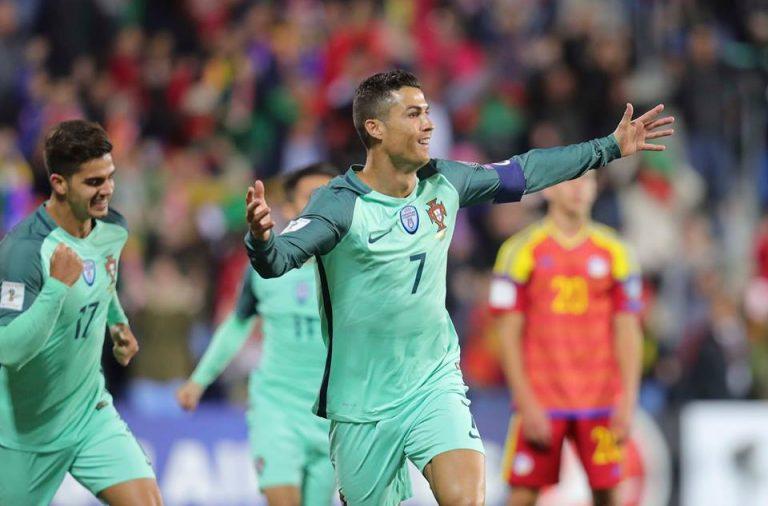 Cristiano Ronaldo volta a fazer a diferença com a camisola das 'quinas'