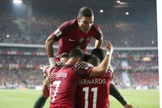 Portugal celebra a sétima presença num Mundial de Futebol.