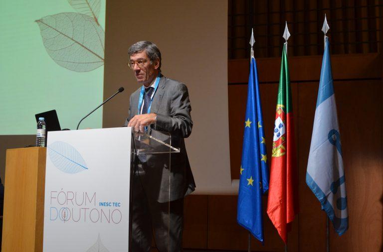 José Manuel Mendonça, presidente do INESC TEC, no Fórum do Outono.