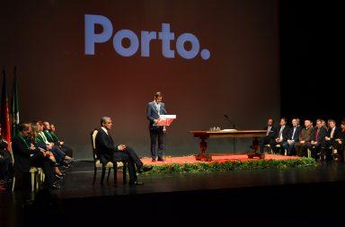 O discurso de Rui Moreira fechou a tomada de posso dos novos órgãos autárquicos do Porto.