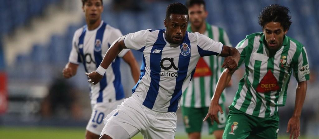 Hernani fechou a goleada do FC Porto.