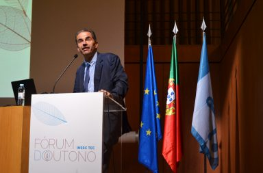 Manuel Heitor no Fórum do Outono organizado pelo INESC.