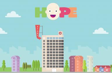 Neste videojogo, o cenário é tão próximo quanto possível daquele que as crianças veem no IPO do Porto.