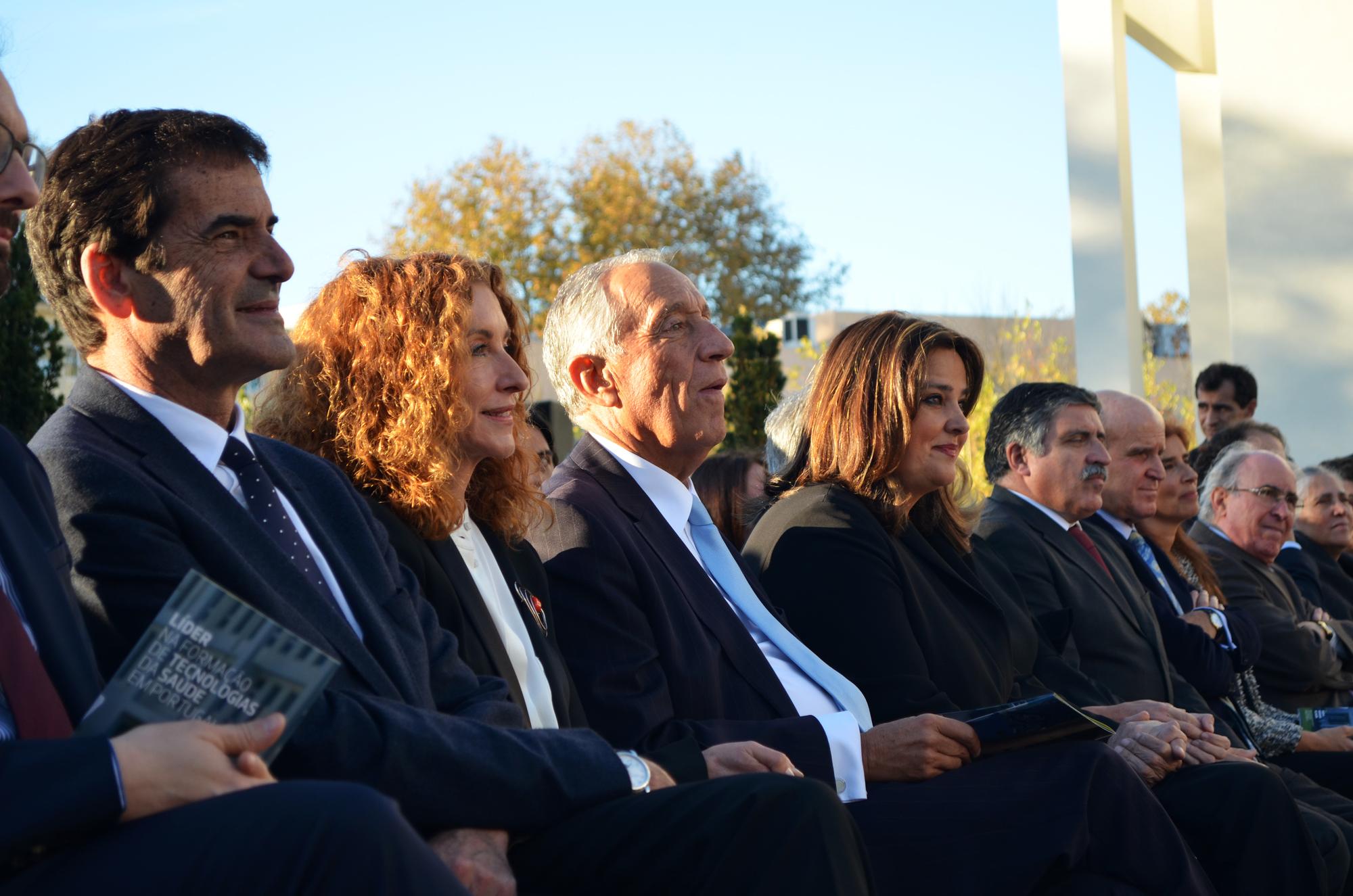 Rui Moreira, Rosário Gâmboa e Marcelo Rebelo de Sousa estiveram na cerimónia.