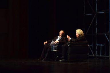 Steven Pinker foi o convidado da sessão de encerramento do Fórum do Futuro.