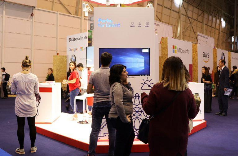 A plataforma Porto. For Talent foi apresentada na Web Summit.