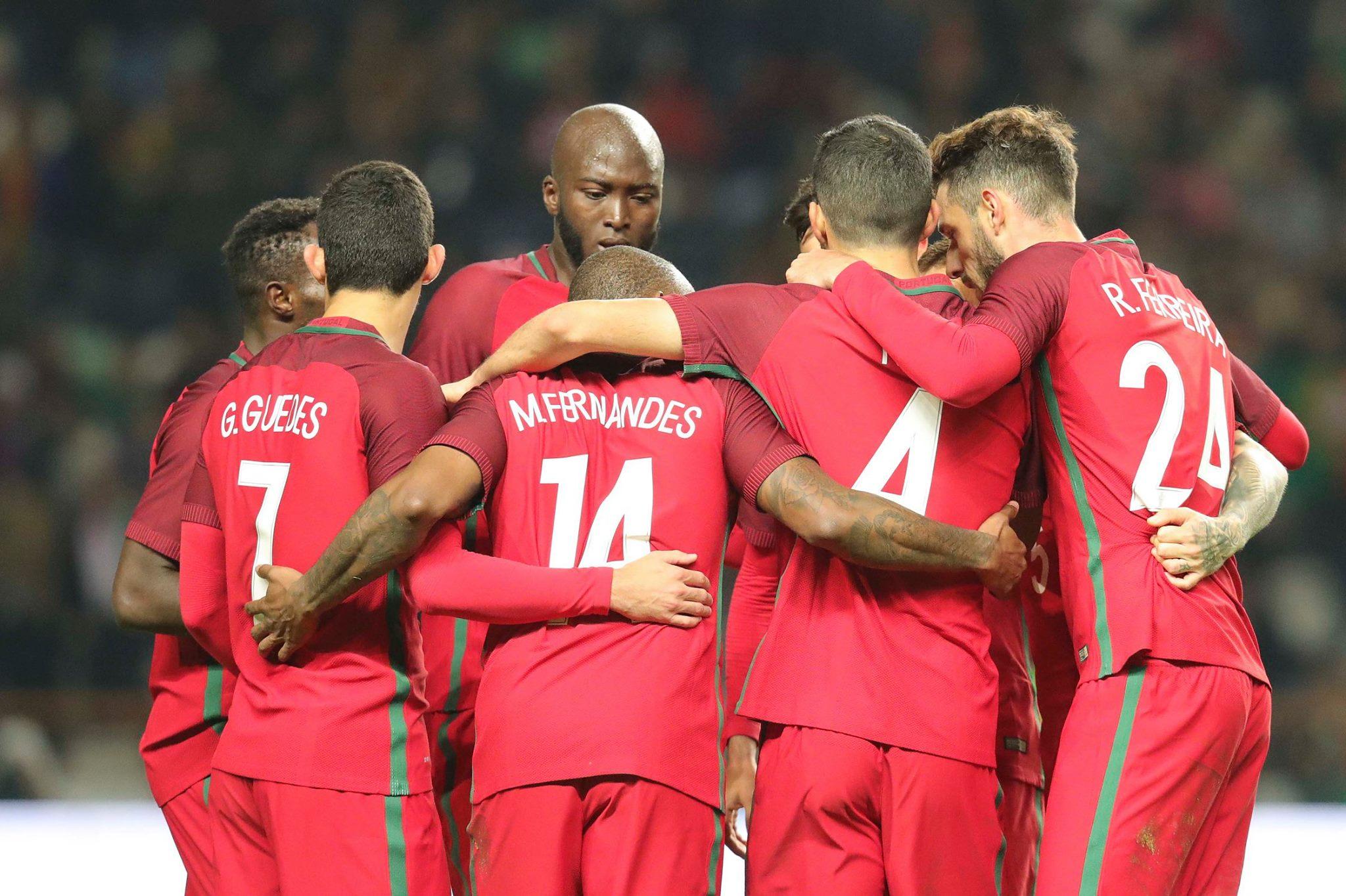 Portugal termina encontro com Estados Unidos com um empate a uma bola.