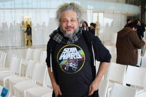 Joseph Dreitman, ator e produtor, responsável pelos anúncios dos convidados da Comic Con.