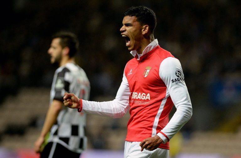 O SC Braga saiu do Bessa com os três pontos.