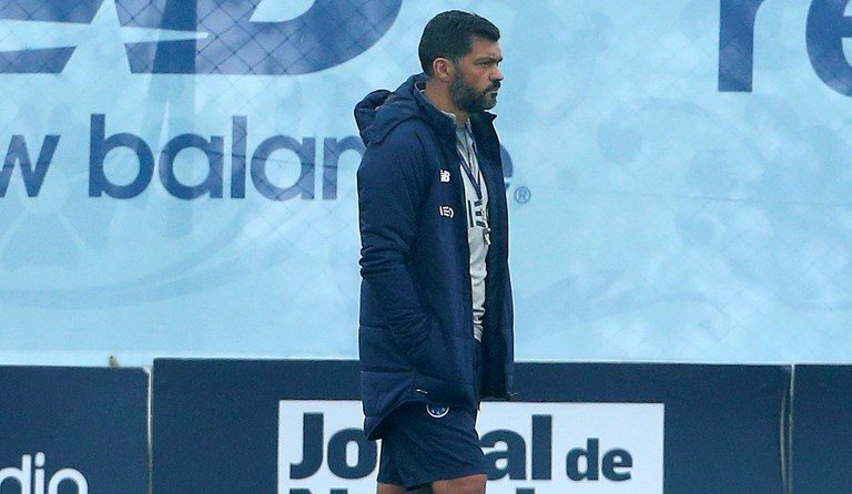 A equipa de Sérgio Conceição começou a preparar a receção ao Tondela.