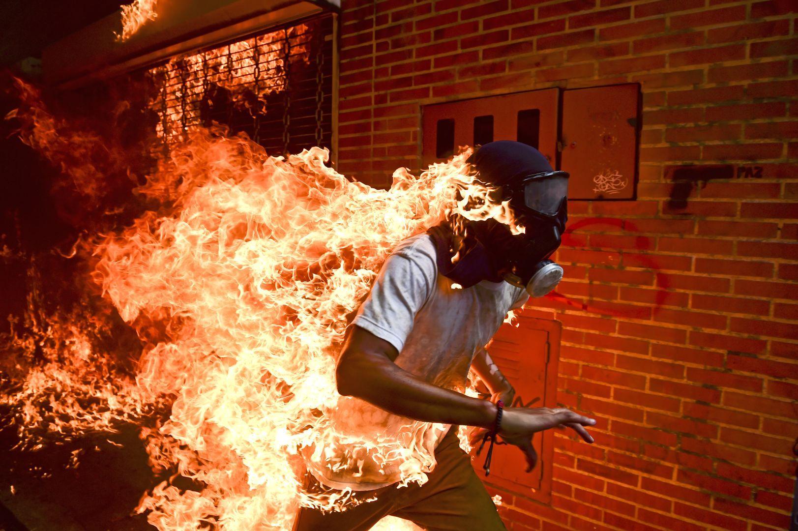 Crise na Venezuela. Foto: Ronaldo Schemidt