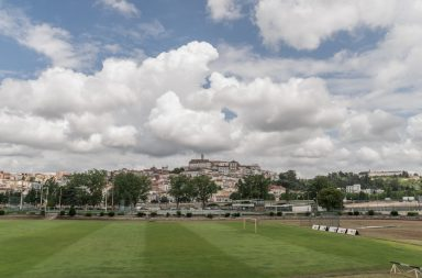 Pavilhão do Estádio Universitário de Coimbra.