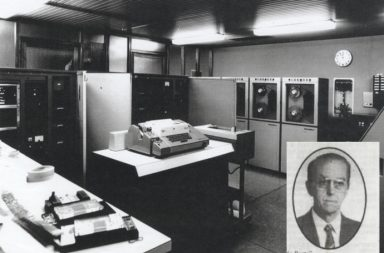 O NCR Elliott 4100 foi entregue à Faculdade de Ciências da UP, em 1967, fruto da visão de Rogério Nunes.