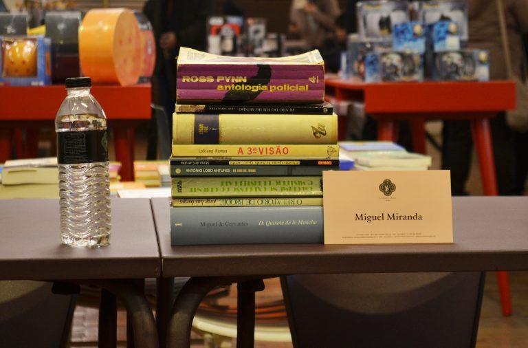 Miguel Miranda escolheu obras que o marcaram desde a sua infância.