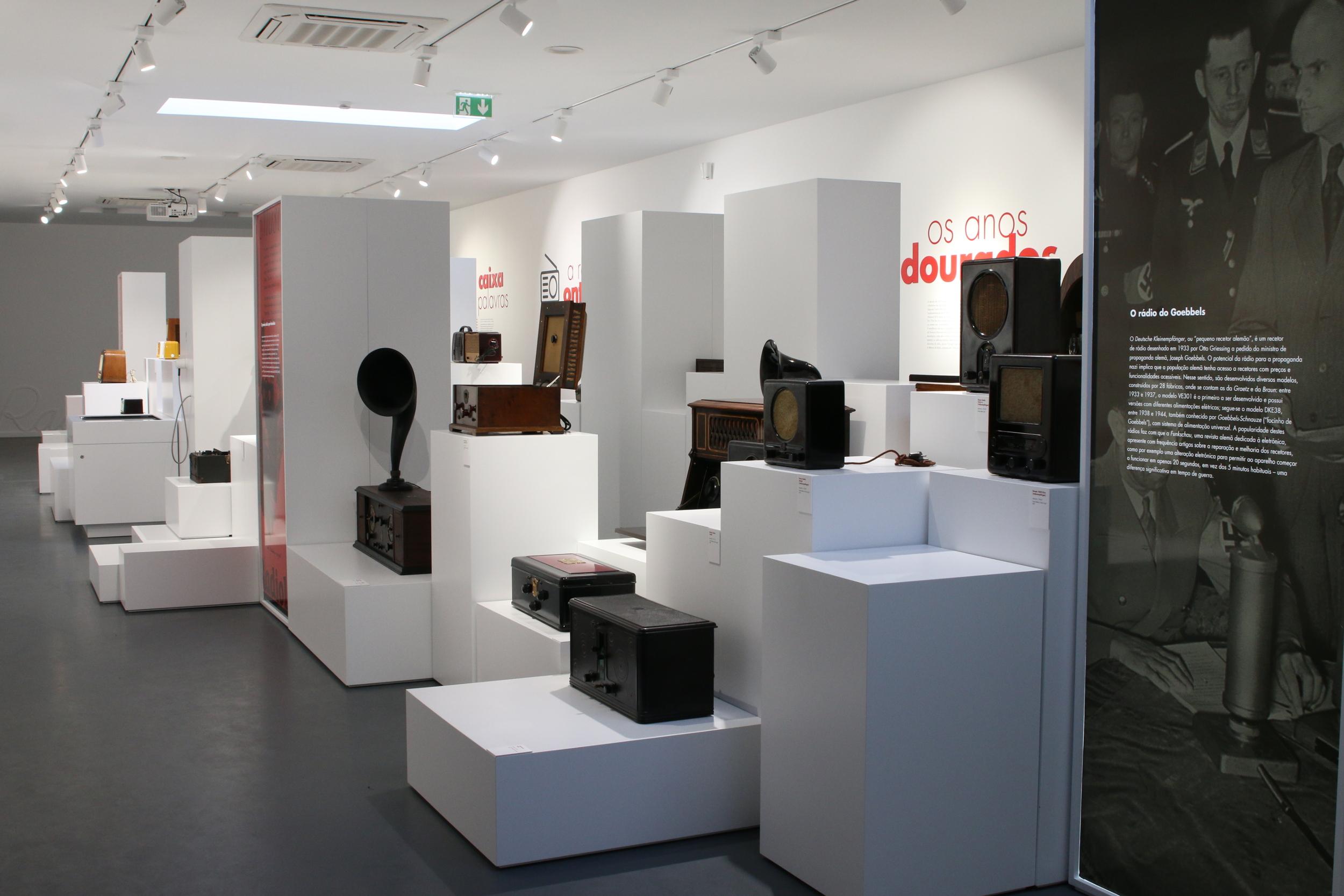 O museu tem um espólio de mais de 1500 peças em exposição.