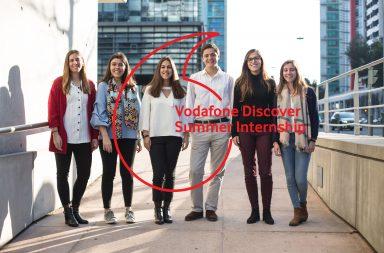 O programa de estágios da Vodafone já recebeu mais de 150 estudantes universitários.