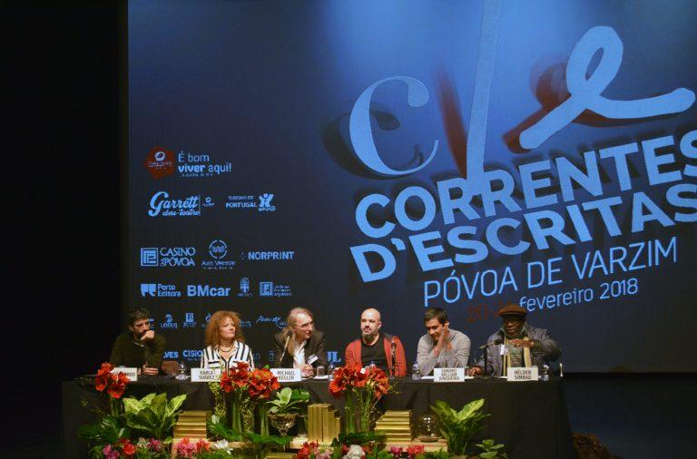 João Tordo, Afonso Cruz, Karla Suarez, Lopito Feijóo e Sandro William Junqueira